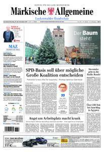 Märkische Allgemeine Luckenwalder Rundschau - 25. November 2017