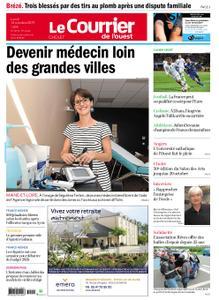 Le Courrier de l'Ouest Cholet – 14 octobre 2019