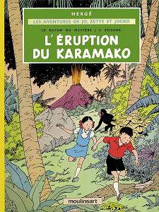 Jo, Zette et Jocko - Tome 4 - L'éruption du Karamako