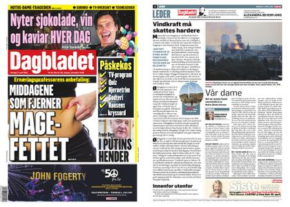 Dagbladet – 17. april 2019