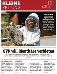 Kleine Zeitung Kärnten - 16 August 2019