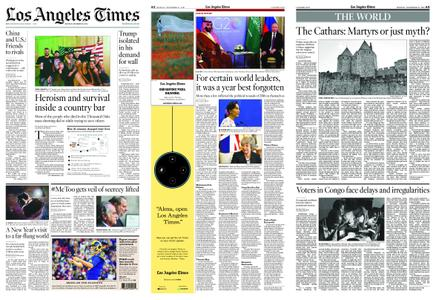 Los Angeles Times – December 31, 2018