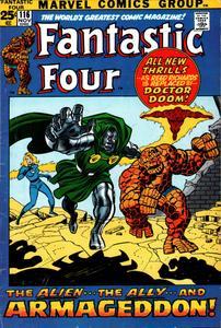 Fantastic Four 116 HD Nov 1971