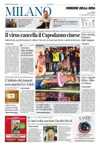 Corriere della Sera Milano – 27 gennaio 2020