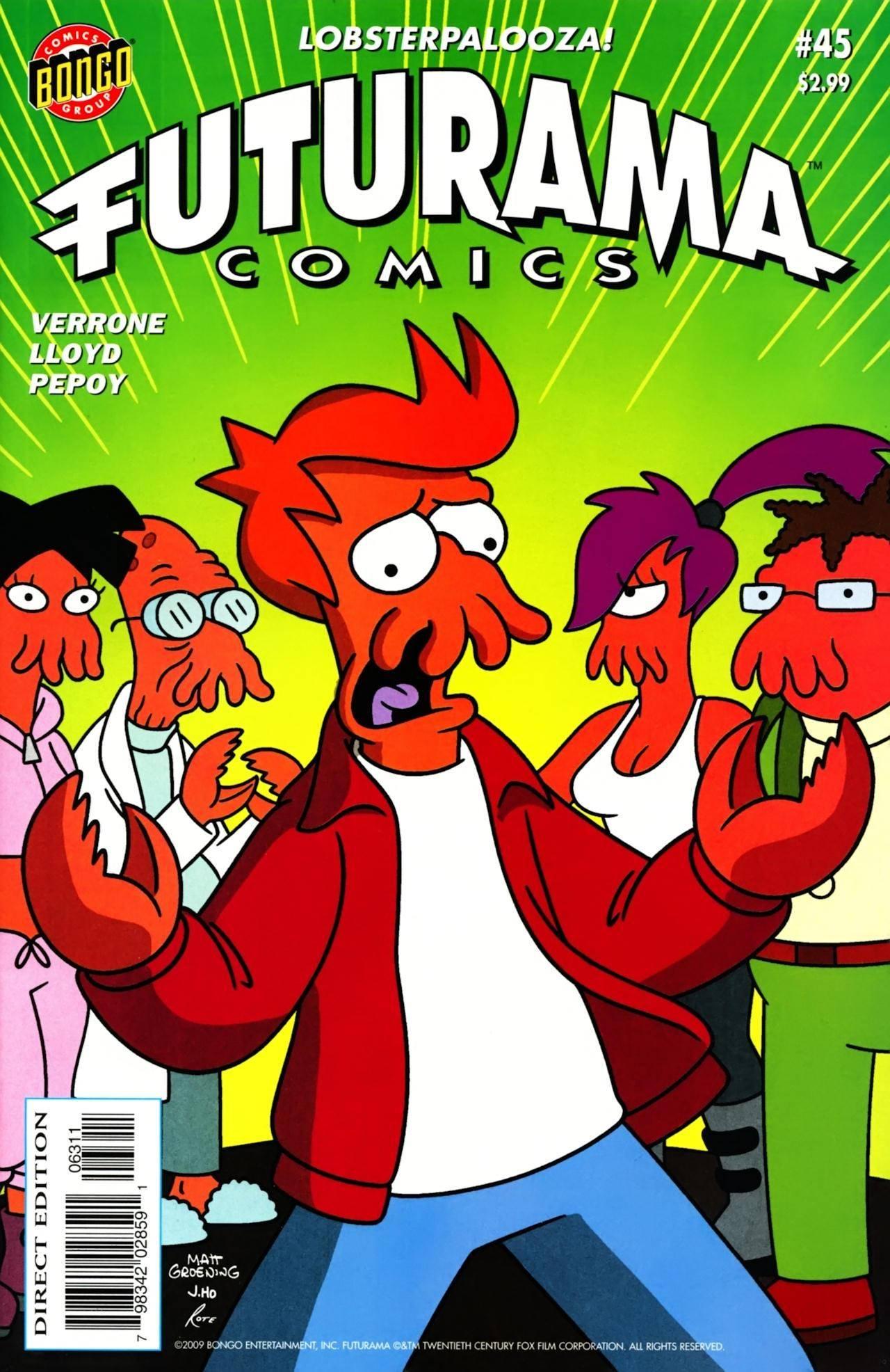 Futurama Comics 045 - Anthology of Interest II