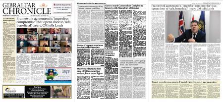 Gibraltar Chronicle – 20 January 2021