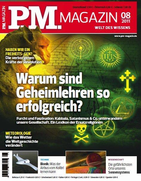 PM Magazin August No 08 2011