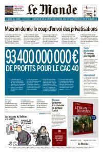 Le Monde du Vendredi 9 Mars 2018