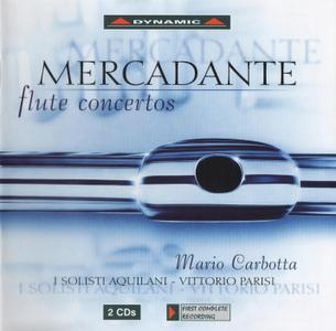Mario Carbotta, I Solisti Aquilani, Vittorio Parisi - Mercadante: Flute Concertos (2004)