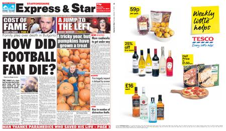 Express and Star Staffordshire Edition – October 17, 2019