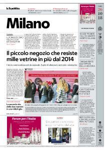 la Repubblica Milano - 26 Ottobre 2018