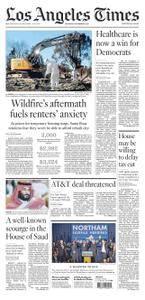 Los Angeles Times  November 09 2017