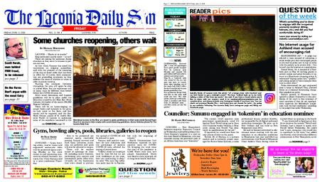 The Laconia Daily Sun – June 12, 2020
