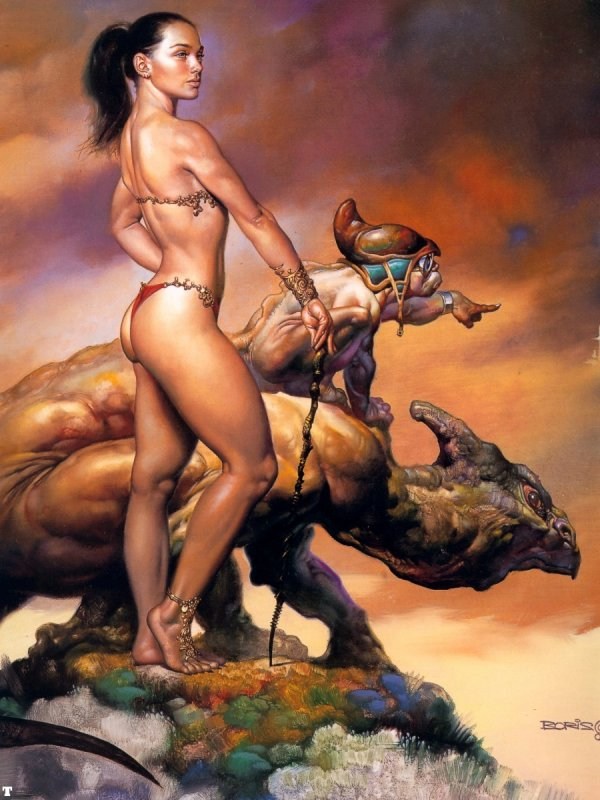 Full set of pics Boris Vallejo