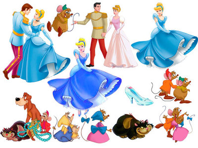 Cinderella - Clipart for Photoshop