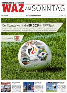 WAZ Westdeutsche Allgemeine Zeitung Sonntagsausgabe - 30. Juni 2019