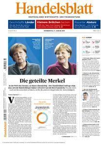 Handelsblatt - 11. Januar 2018