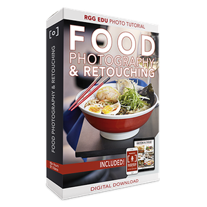 The Complete Guide To Editorial Food Photography & Photoshop Retouching [Reduced]