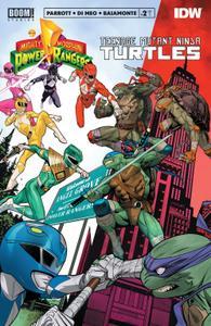 Mighty Morphin Power Rangers-Teenage Mutant Ninja Turtles 002 2020 digital Raphael