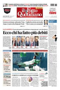 Il Fatto Quotidiano - 08 ottobre 2018