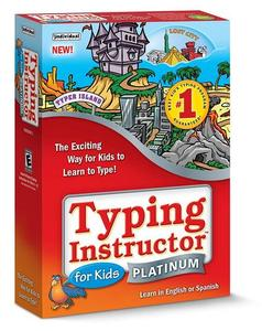 Individual Software Typing Instructor for Kids Platinum 5.1