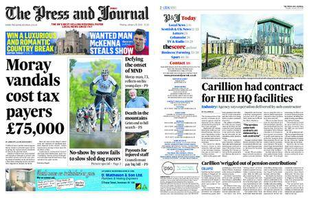 The Press and Journal Moray – January 29, 2018