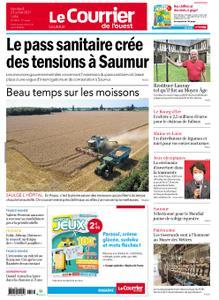 Le Courrier de l'Ouest Saumur – 23 juillet 2021