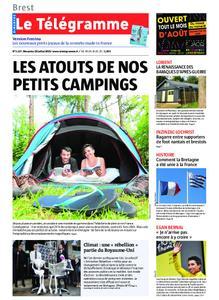 Le Télégramme Brest Abers Iroise – 28 juillet 2019