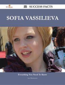 Sofia Vassilieva 32 Success Facts - Everything you need to know about Sofia Vassilieva