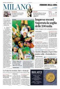 Corriere della Sera Milano – 16 settembre 2018