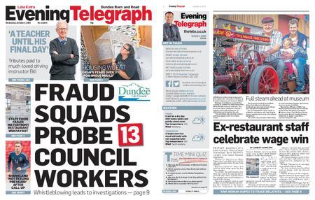 Evening Telegraph First Edition – October 02, 2019