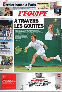 L'EQUIPE (25 Juin 2011)