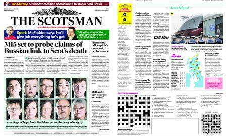The Scotsman – March 14, 2018