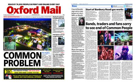 Oxford Mail – January 29, 2019