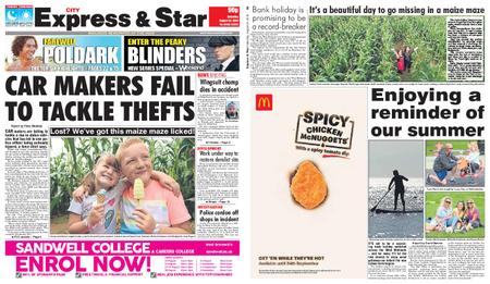 Express and Star City Edition – August 24, 2019