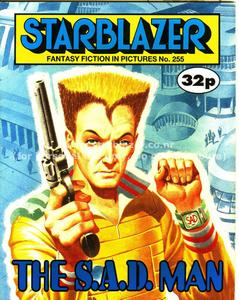 Starblazer 255 - The S A D Man (1989) (PDFrip