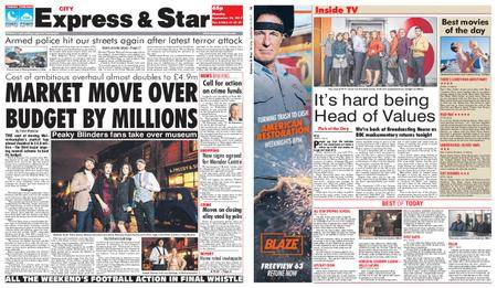 Express and Star City Edition – September 18, 2017