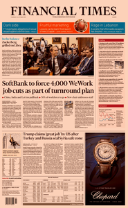 Financial Times Europe – 24 October 2019