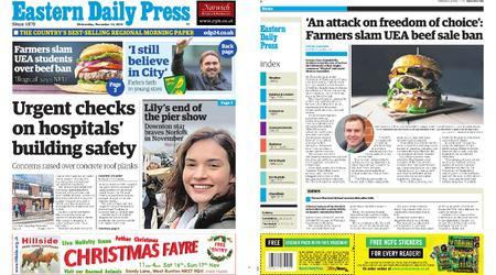 Eastern Daily Press – November 13, 2019