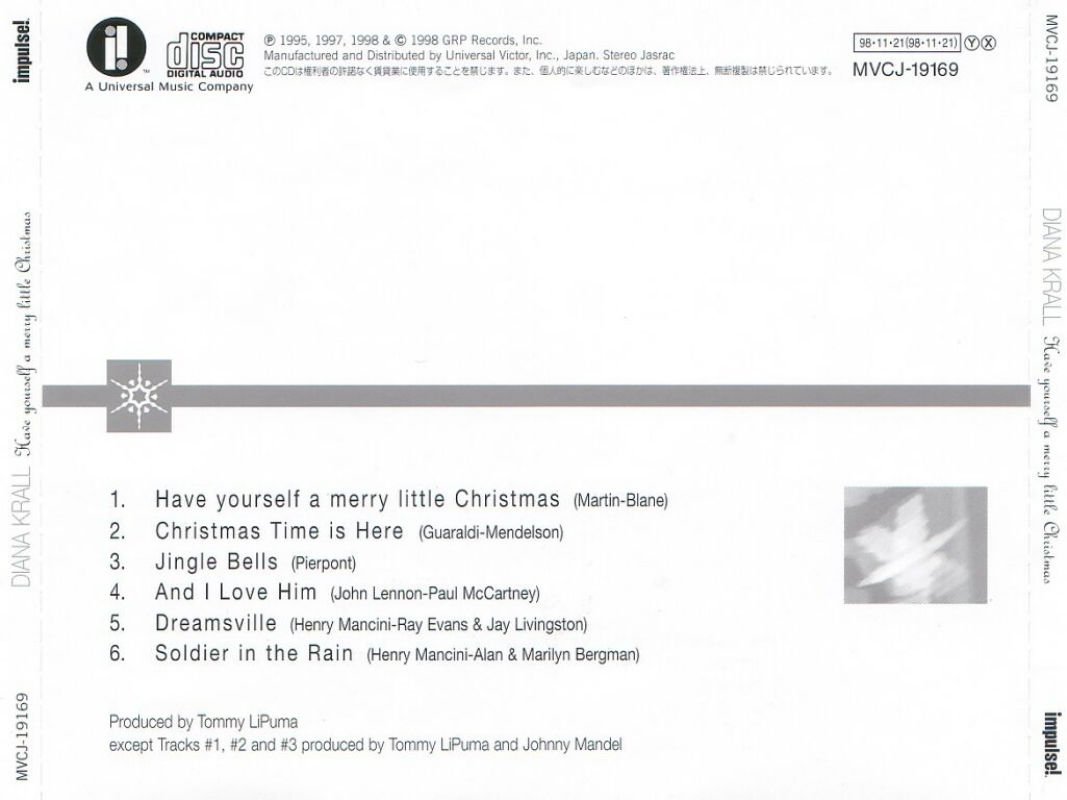 Diana Krall - Have Yourself A Merry Little Christmas (1998)