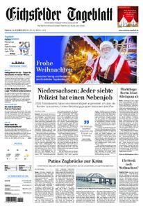 Eichsfelder Tageblatt – 24. Dezember 2019