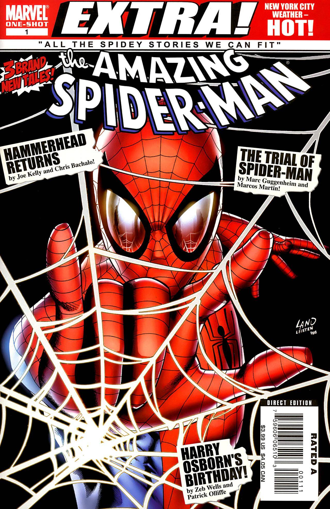 Spider Man [0212] Amazing Spider Man Brand New Day Extra