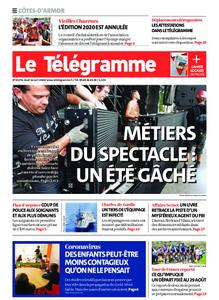 Le Télégramme Guingamp – 16 avril 2020