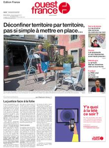Ouest-France Édition France – 28 avril 2021