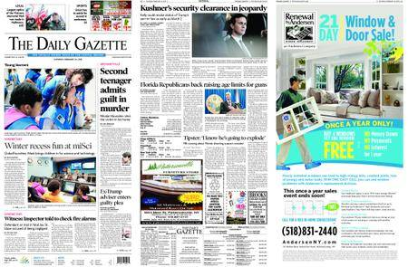 The Daily Gazette – February 24, 2018