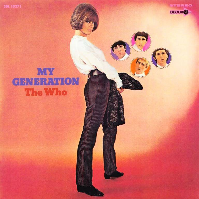 The Who - My Generation (1965) [2012, Japanese 2 SHM-CDs] {Collector's Edition}