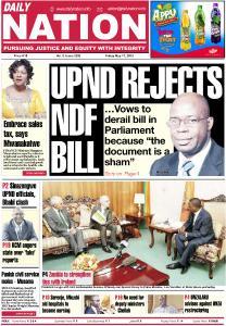Daily Nation (Zambia) - May 17, 2019