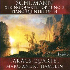 Takacs Quartet, Marc-Andre Hamelin - Robert Schumann: String Quartet, Op. 41, No. 3; Piano Quintet, Op. 44 (2009) [Re-Up]