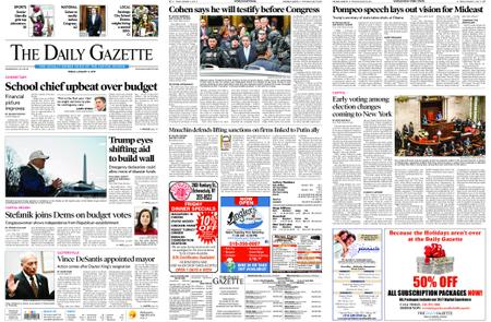 The Daily Gazette – January 11, 2019
