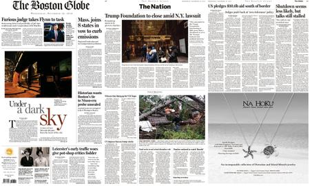The Boston Globe – December 19, 2018